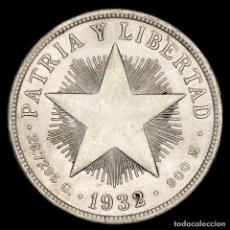 Monedas antiguas de América: CENTROAMÉRICA - 1 PESO DE PLATA, 1932.. Lote 159648012