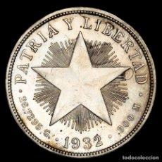 Monedas antiguas de América: CENTROAMÉRICA 1 PESO DE PLATA, 1932.. Lote 159649750