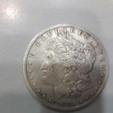 Monedas antiguas de América: ESTADOS UNIDOS. AÑO 1881.- 1 DOLAR MORGAN. Lote 159676574