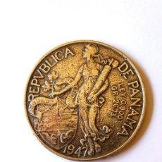 Monedas antiguas de América: UN BALBOA DE PLATA. REPUBLICA DE PANAMÁ. AÑO 1947. 26,73 GRS. LEY 0,900.. Lote 159763966