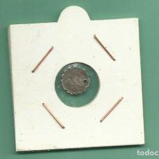 Monedas antiguas de América: PLATA-GUATEMALA. 1/4 REAL 1876. PERFORADA. Lote 159879502