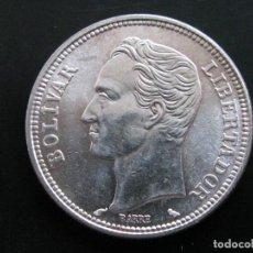 Monedas antiguas de América: VENEZUELA . 2 BOLIVARES DE 1960 . PLATA. Lote 160025110