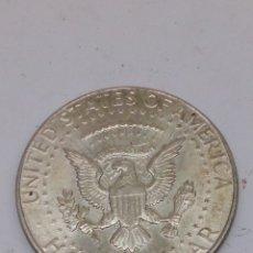 Monedas antiguas de América: MONEDA DE PLATA HALF DOLLAR 1964. Lote 160102114