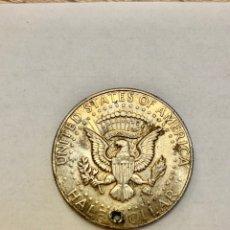 Alte Münzen aus Amerika - Moneda medio dollar dólar plata 1967 Kennedy - 160520341