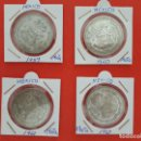 Monedas antiguas de América: LOTE 4 MONEDAS PLATA MEXICO DIFERENTES AÑOS VER FOTO. Lote 160576570