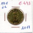Monedas antiguas de América: MEC 62 - / REPUBLICA DOMINICANA / 1 PESO BOMINICANO 2017 / DO - C.443. Lote 160674194