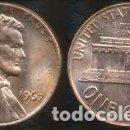 Monedas antiguas de América: ESTADOS UNIDOS 1 CENTAVO, 1967 LINCOLN CENT. Lote 160696966