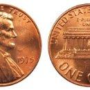 Monedas antiguas de América: ESTADOS UNIDOS 1 CENTAVO, 1975 LINCOLN CENT. Lote 160697398