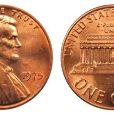 Monedas antiguas de América: ESTADOS UNIDOS 1 CENTAVO, 1975 LINCOLN CENT. Lote 160697398