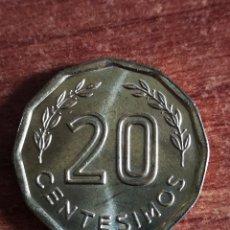 Monedas antiguas de América: URUGUAY 1981 20 CENTESIMOS. Lote 160964010