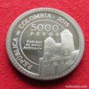Monedas antiguas de América: COLOMBIA 5000 PESOS 2015 MADRE LAURA. Lote 161179998