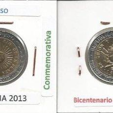 Monedas antiguas de América: ARGENTINA 2013 - 1 PESO - KM 112.4 - CIRCULADA. Lote 161182078