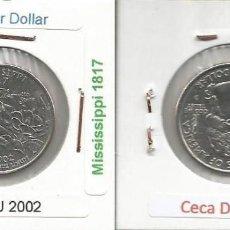Monedas antiguas de América: E.E.U.U. 2002 D - 25 CENTS (QUARTER DOLLAR) - KM 335 - CIRCULADA. Lote 161301914