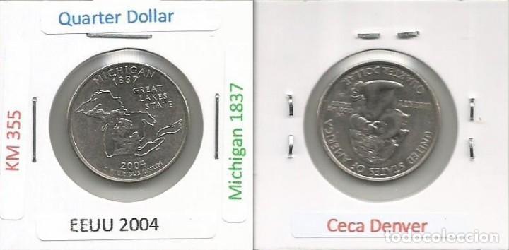 E.E.U.U. 2004 D - 25 CENTS (QUARTER DOLLAR) - KM 355 - CIRCULADA (Numismática - Extranjeras - América)