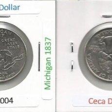 Monedas antiguas de América: E.E.U.U. 2004 D - 25 CENTS (QUARTER DOLLAR) - KM 355 - CIRCULADA. Lote 161301982