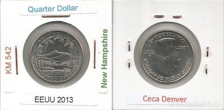 E.E.U.U. 2013 D - 25 CENTS (QUARTER DOLLAR) - KM 542 - CIRCULADA (Numismática - Extranjeras - América)