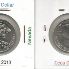Monedas antiguas de América: E.E.U.U. 2013 D - 25 CENTS (QUARTER DOLLAR) - KM 544 - CIRCULADA. Lote 161302362