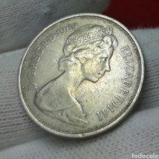 Monedas antiguas de América: 5 NEW PENCE 1969. Lote 161359925