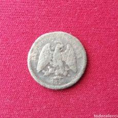 Monedas antiguas de América: MEXICO. 5 CENTAVOS. 1890. PLATA. Lote 161560074