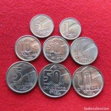 Monedas antiguas de América: BRAZIL BRASIL SERIE 1 5 10 50 CENTAVOS 1 5 10 50 CRUZEIROS 1989 - 1991. Lote 195154132