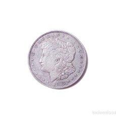 Monedas antiguas de América: UN DÓLAR MORGAN DE 1921 CECA DE PHILADELPHIA. Lote 162077806