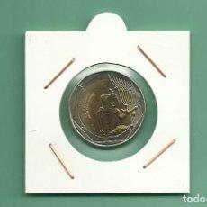 Monedas antiguas de América: COLOMBIA. 500 PESOS 2017. RANA DE CRISTAL. BIMETÁLICA. Lote 180041945