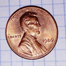 Monedas antiguas de América: USA. 1 CENT 1986.. Lote 162671690