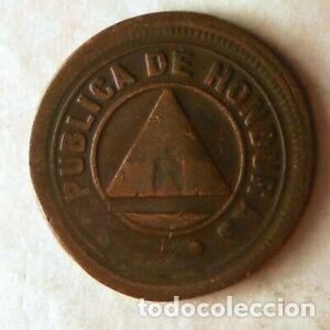 HONDURAS 2 CENTAVOS 1910 (Numismática - Extranjeras - América)