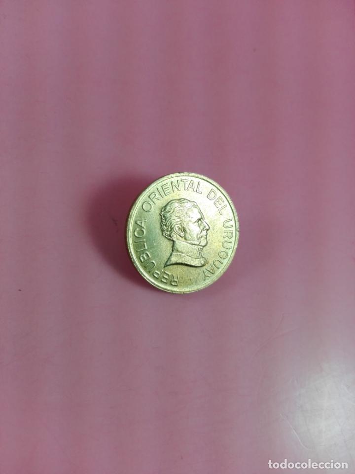 Monedas antiguas de América: MONEDA-URUGUAY-(1) UN PESO-1998-20 MM-BUEN ESTADO-VER FOTOS - Foto 3 - 164321026
