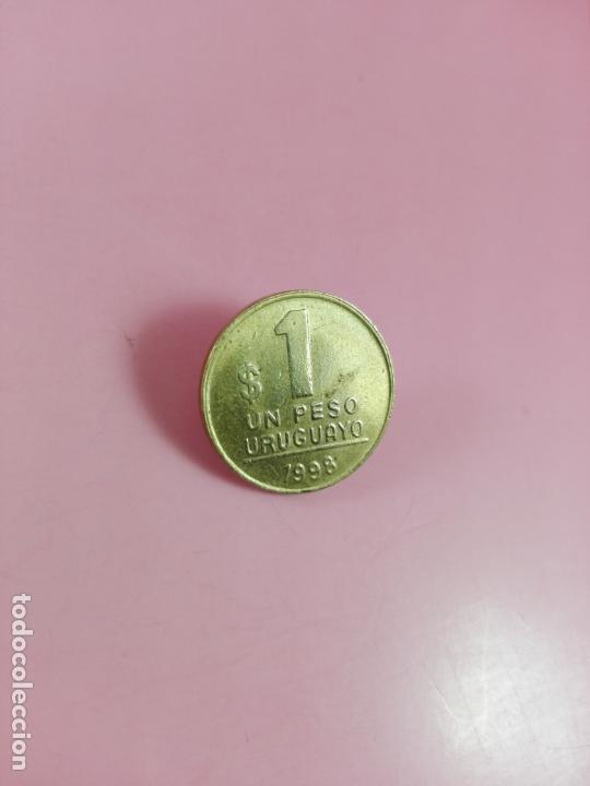 Monedas antiguas de América: MONEDA-URUGUAY-(1) UN PESO-1998-20 MM-BUEN ESTADO-VER FOTOS - Foto 4 - 164321026