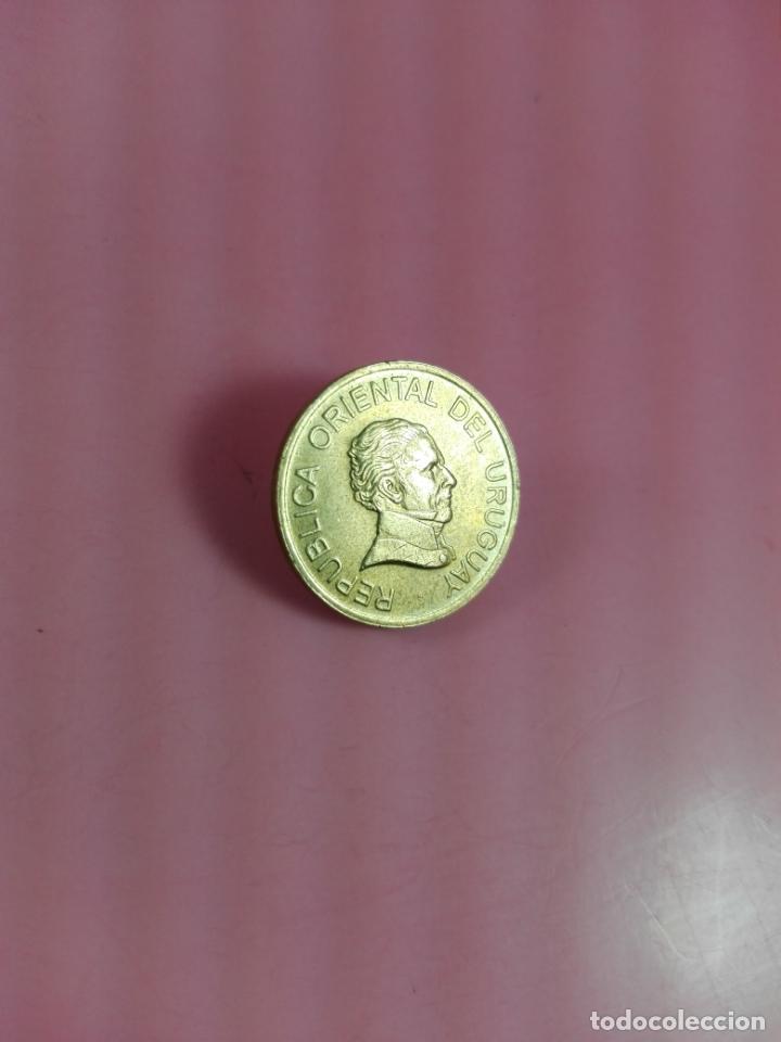 Monedas antiguas de América: MONEDA-URUGUAY-(1) UN PESO-1998-20 MM-BUEN ESTADO-VER FOTOS - Foto 5 - 164321026