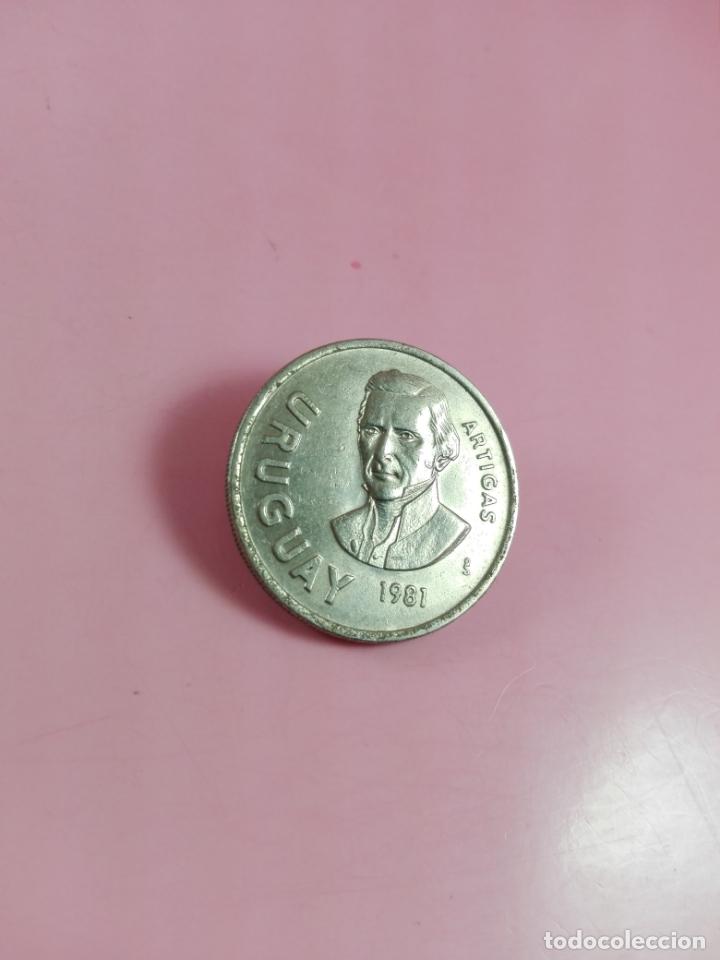Monedas antiguas de América: moneda-paraguay-10 nuevos pesos-1981-artigas-ver fotos - Foto 2 - 164335478