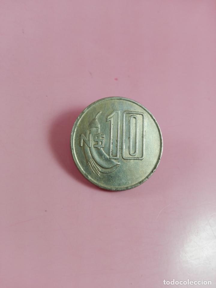 Monedas antiguas de América: moneda-paraguay-10 nuevos pesos-1981-artigas-ver fotos - Foto 3 - 164335478