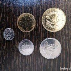 Monedas antiguas de América: GUATEMALA-LOTE 5 MONEDAS DISTINTAS-SC. Lote 164669998