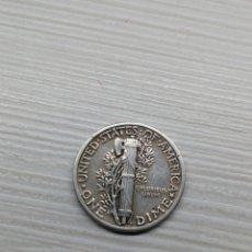 Monedas antiguas de América: MONEDA USA PLATA ONE DIME ESTADOS UNIDOS (USA) AÑO 1942.... Lote 132040002