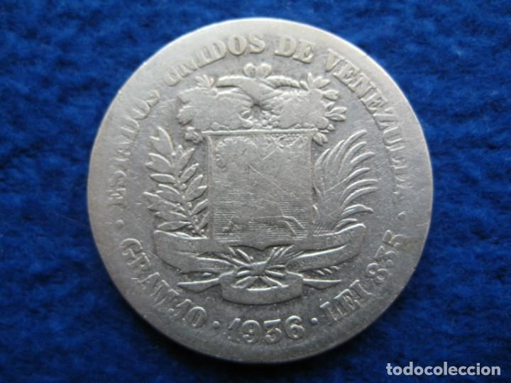 MONEDA 2 BOLIVARES. AÑO 1936. PLATA 835 ML. ESTADOS UNIDOS DE VENEZUELA (10 GRAMOS) (Numismática - Extranjeras - América)