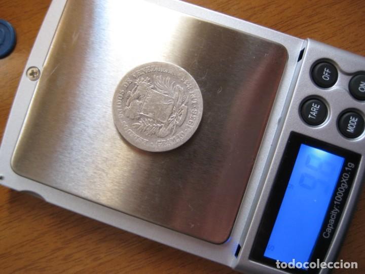 Monedas antiguas de América: Moneda 2 bolivares. Año 1936. Plata 835 ml. Estados Unidos de Venezuela (10 gramos) - Foto 3 - 164882066