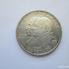 Monedas antiguas de América: ESTADOS UNIDOS * 1/2 DOLAR 1923-S * MONROE DOCTRINE CENTENNIAL * PLATA. Lote 165067398