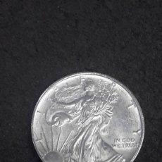 Monedas antiguas de América: DOLAR LIBERTY, 1 ONZA DE PLATA PURA, 1993. Lote 165608814