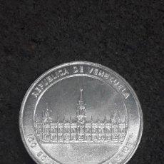 Monedas antiguas de América: VENEZUELA, 100 BOLIVARES, 1 ONZA DE PLATA CONMEMORATIVA. Lote 165609138