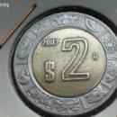 Monedas antiguas de América: MEXICO 2 PESOS 2007. Lote 165675254
