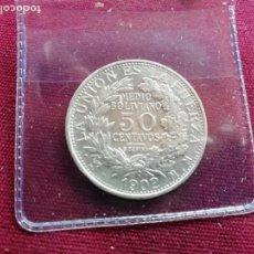 Monedas antiguas de América: BOLIVIA. 50 CENTAVOS DE PLATA DE 1902. Lote 165723106