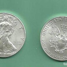 Monedas antiguas de América: PLATA-USA ONZA DE PLATA PURA 2017. Lote 186001508