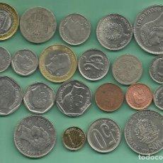Monedas antiguas de América: VENEZUELA: 21 MONEDAS DE 21 MODELOS DIFERENTES. Lote 167046240
