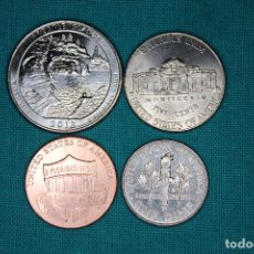 Monedas antiguas de América: LOTE USA 4 MONEDAS SIN CIRCULAR 2017 Y 2018. Lote 167167804