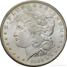Monedas antiguas de América: ESTADOS UNIDOS , MORGAN DOLAR, NUEVA ORLEANS 1884 MAGNIFICA. Lote 167482744