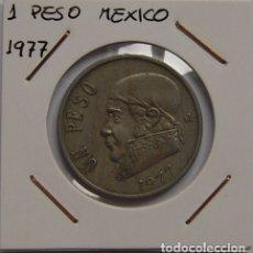 Monedas antiguas de América: 1 PESO MEXICO 1977. Lote 167583520
