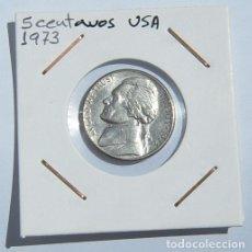 Monedas antiguas de América: 5 CENTAVOS USA 1973. Lote 168097220