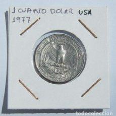 Monedas antiguas de América: CUARTO DE DOLAR USA 1977. Lote 168098388