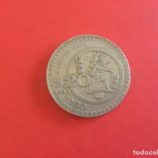 Monedas antiguas de América: MONEDA DE 20 PESOS MÉXICO 1980. CULTURA MAYA. Lote 169088124